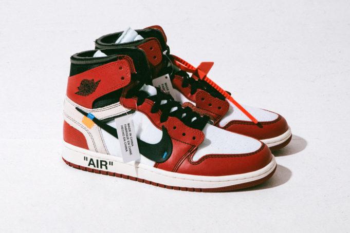 网红AJ1鞋带的系法图解