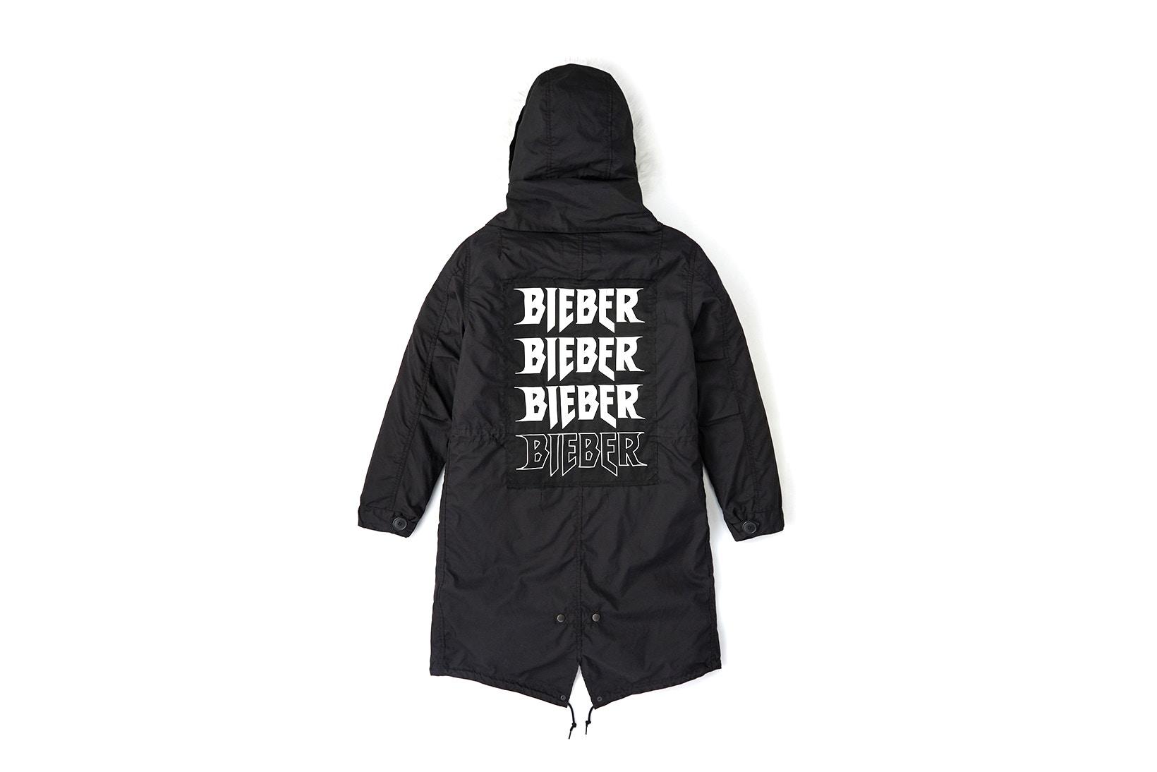 Justin Bieber又有新动态联名承包你的冬装