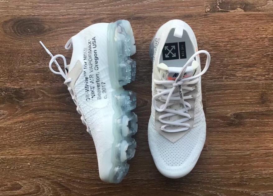 OFF-WHITExNIKE VaporMax纯白配色鞋款你还没看够