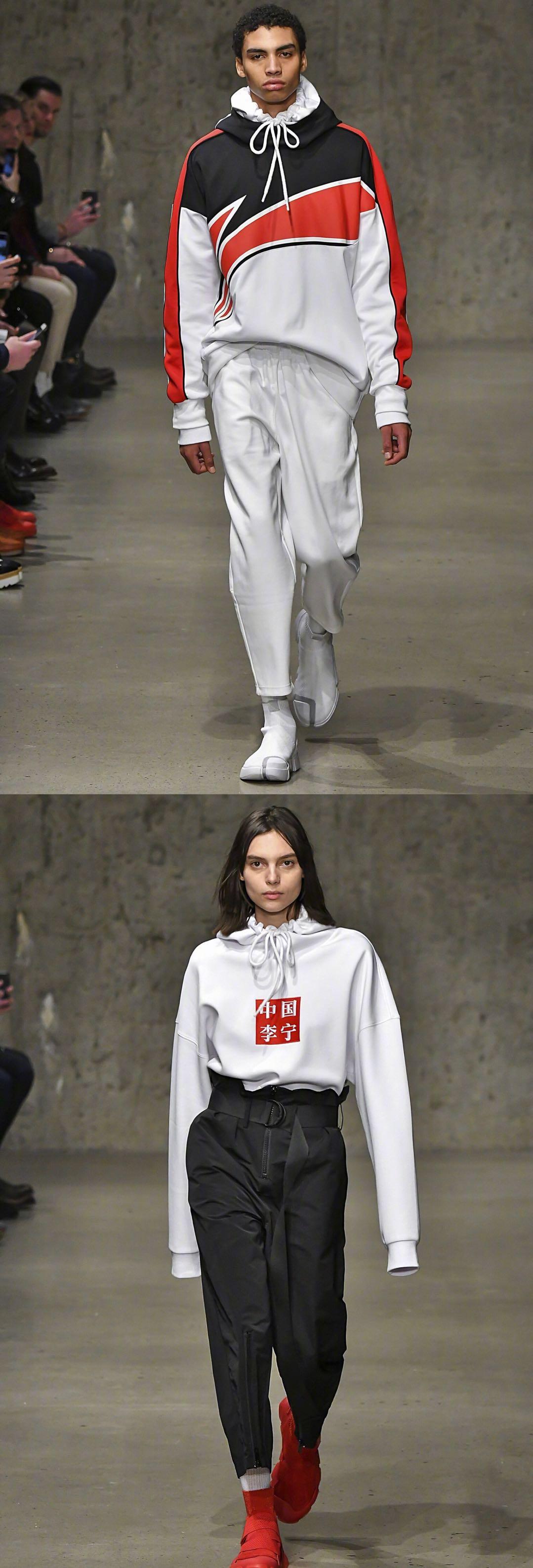 中国运动风惊艳纽约时装周 LI-NING 2018FW破茧重生火力全开