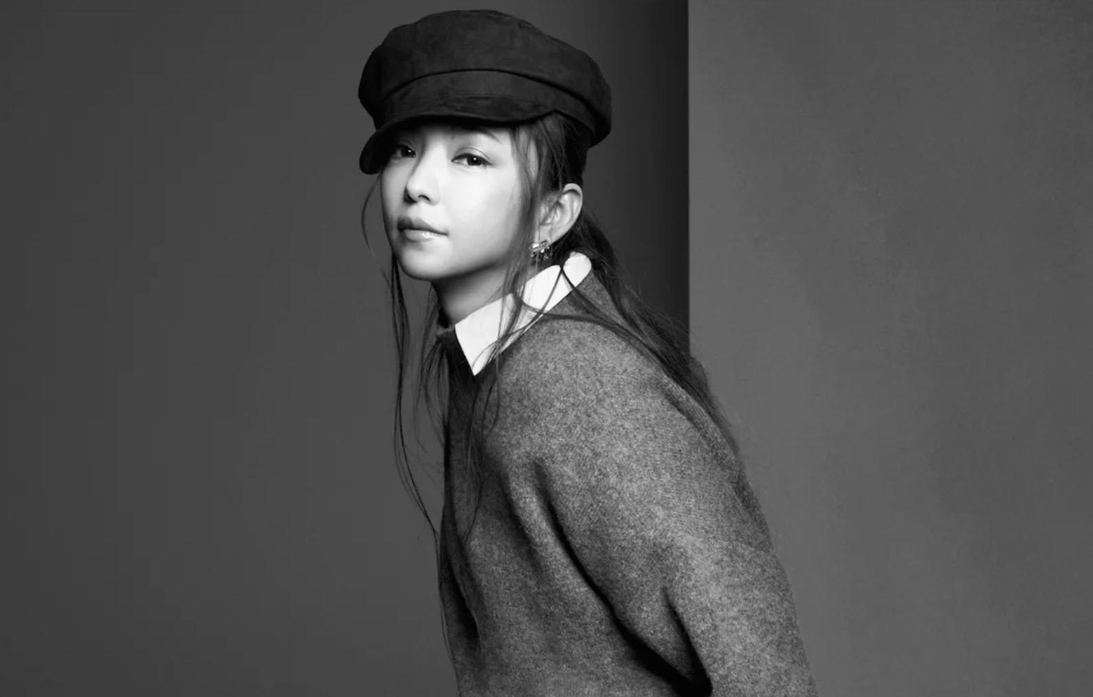 中安室奈美惠亲自演绎了五种造型,每个造型都以彩色和黑色两种照片