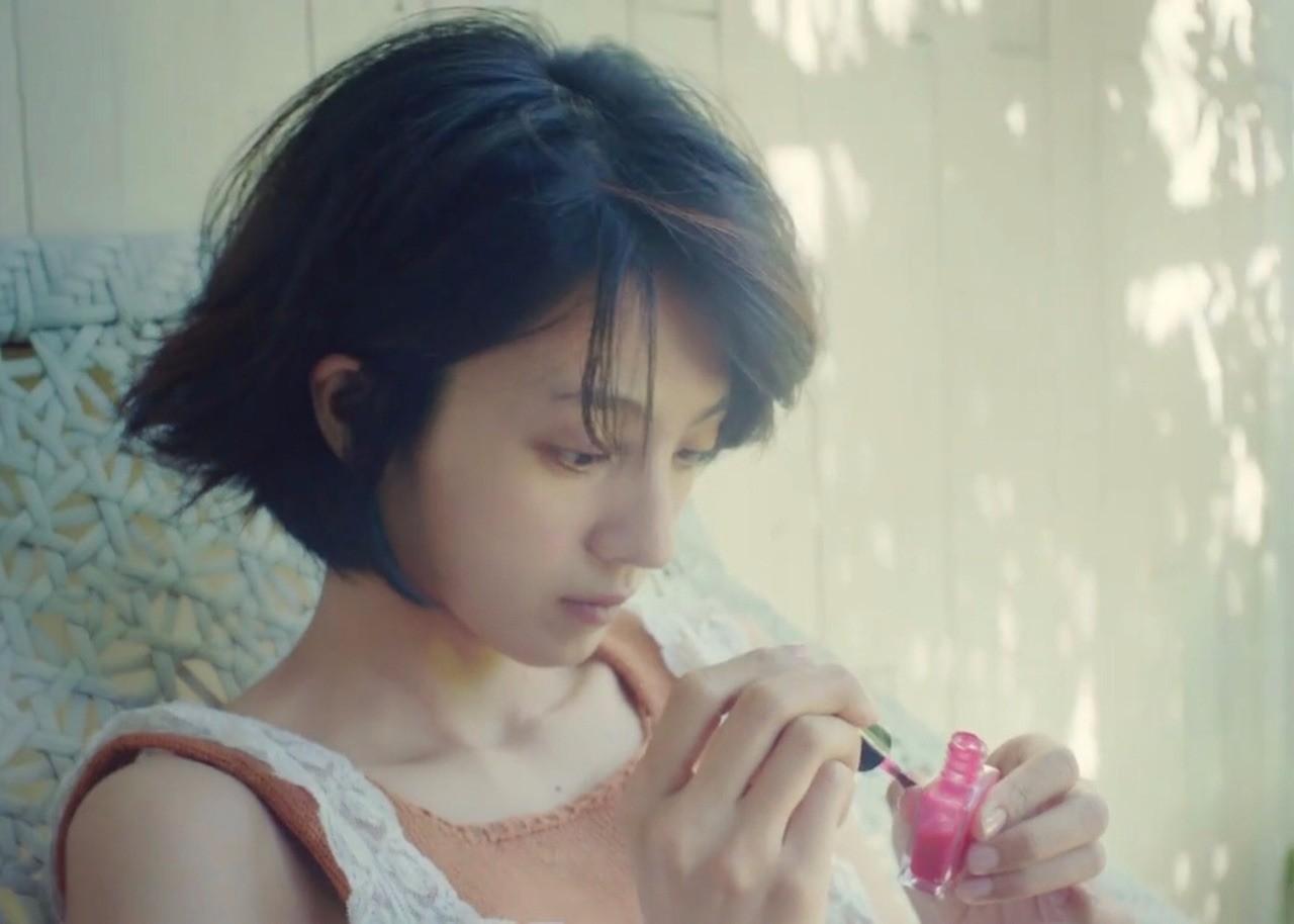 满岛光:日本最好看的短发女孩可能就是她了!