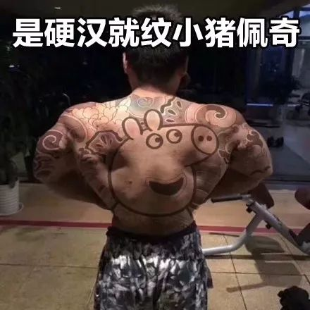 """一个回怼招式送给你: 知乎上发起了""""纹身纹个小猪佩奇是什么体验""""的"""